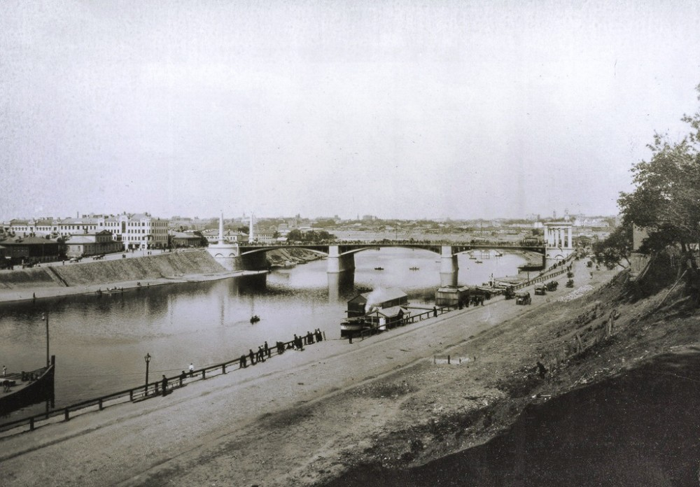 13. Бородинский мост. 1913-1919 годы.