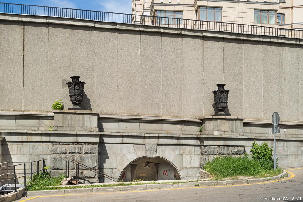24.Часть бывшей смоленской эстакады