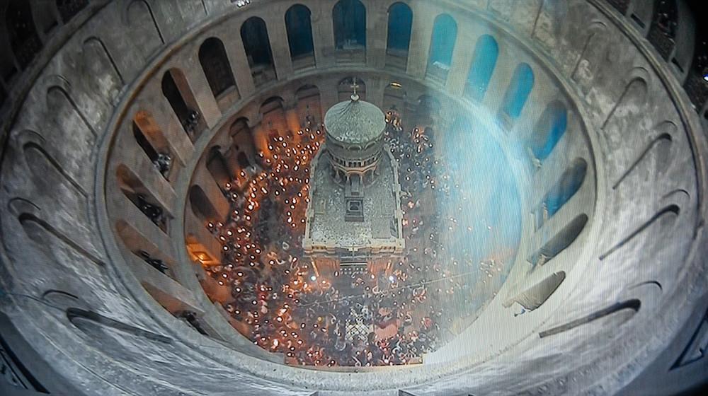 Схождение Благодатного Огня в Иерусалиме - 2021