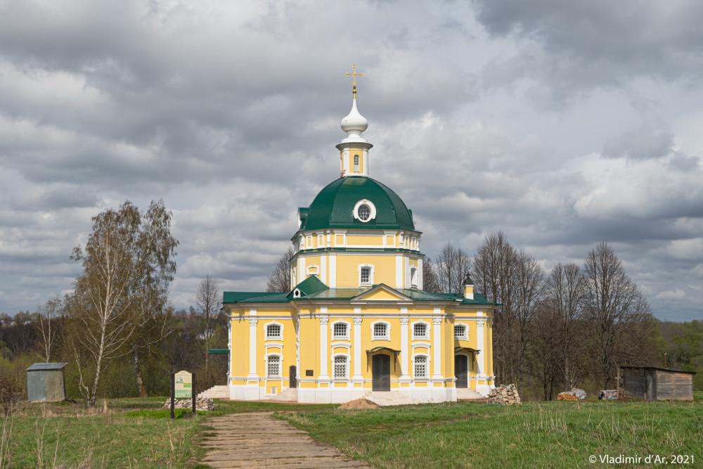 04. Архангельская церковь - вид с юга
