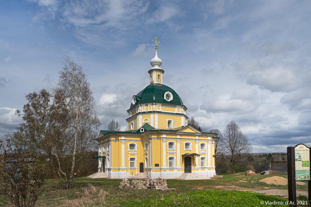 07. Архангельская церковь - вид с юго-запада