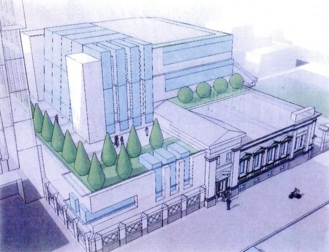 Дом С.И. Елагина - проект регенерации