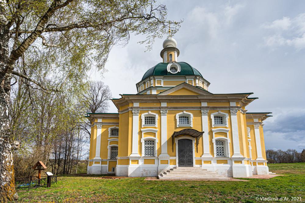 10. Церковь Михаила Архангела - вид с запада