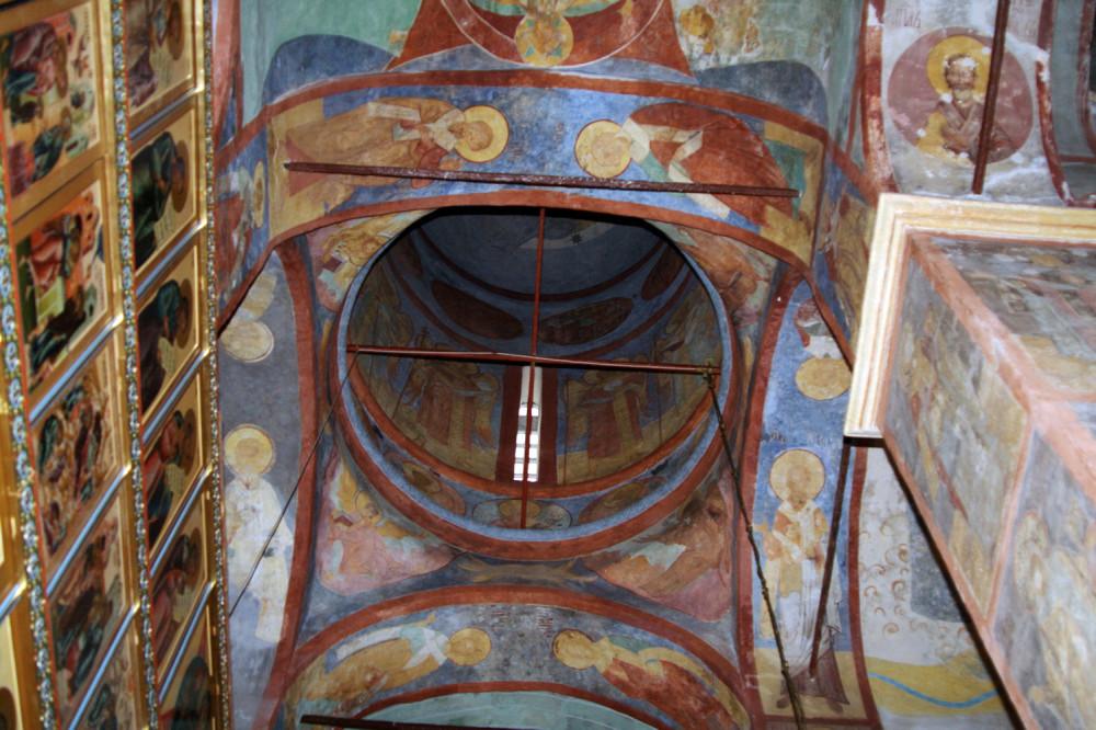 Преображенский храм - Большие Вяземы