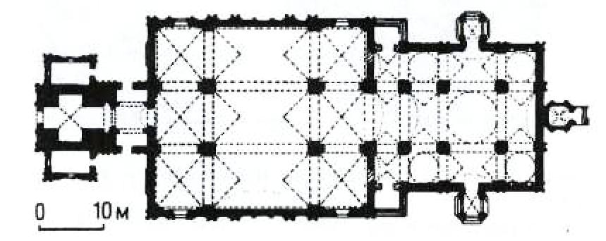 26. Архитектурный план Никольского собора в Рогачево
