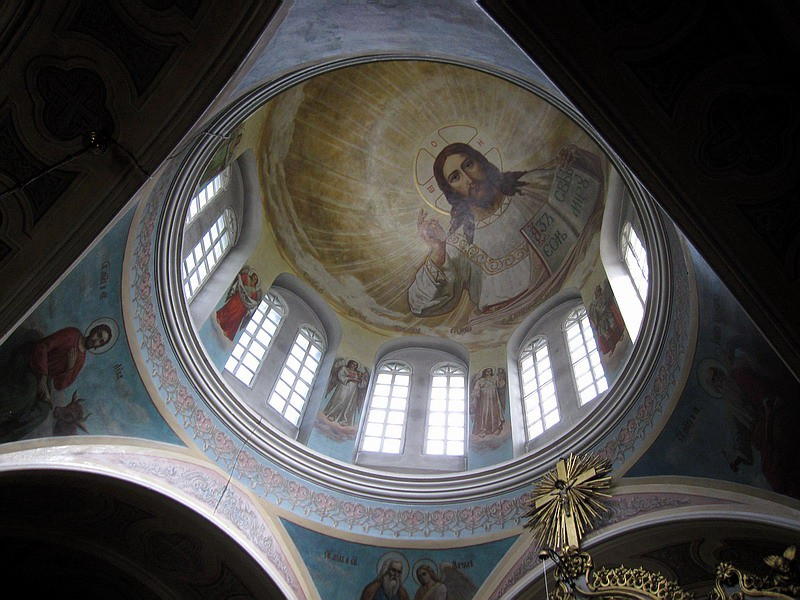 08. Купол Скорбященской церкви. Автор Евгений Ермаков.