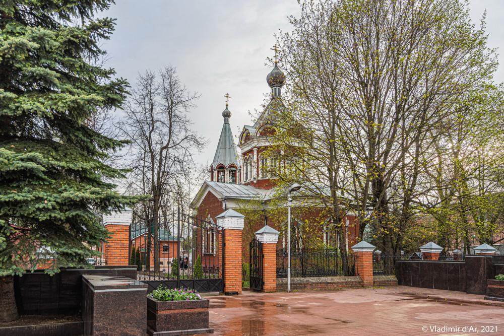 04. Скорбященская церковь со стороны Мемориала