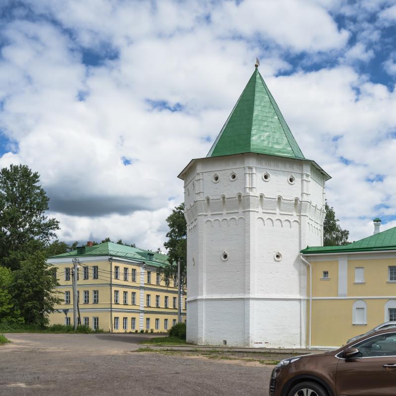 09. Северо-Западная дозорная башня (XVII-XVIII в.)