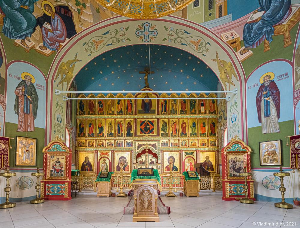 18. Иконостас Сергиевской церкви