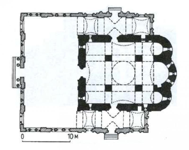 36. План Никольского собора