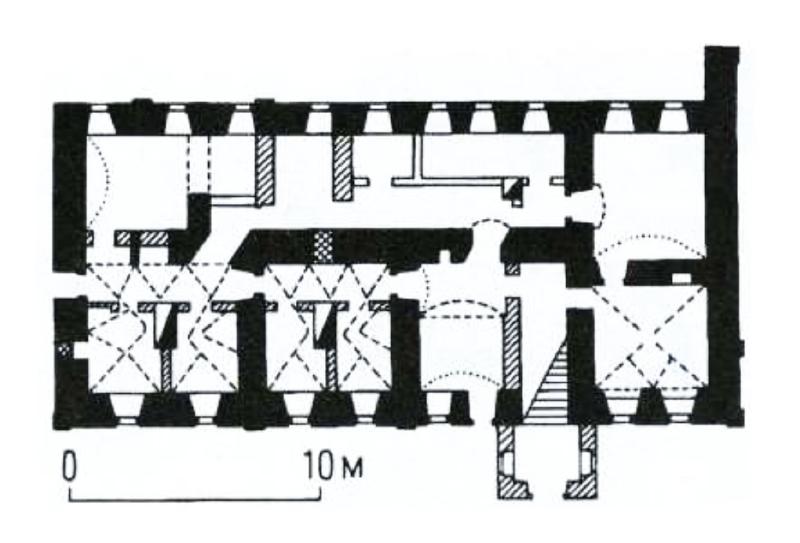 32. План Настоятельского корпуса