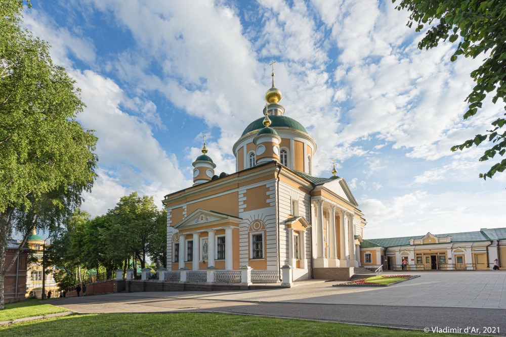 06. Покровский собор с пристройкой, встроенной в Западную крепостную стену