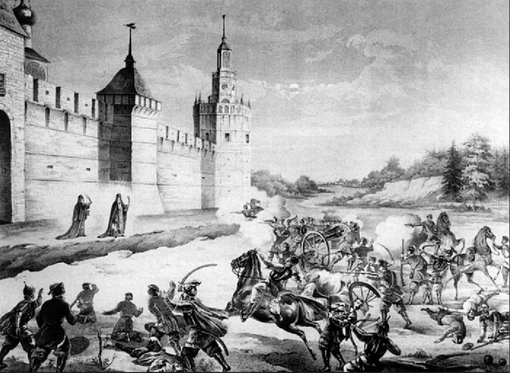 06. Осада Троице-Сергиевой лавры в начале XVII века