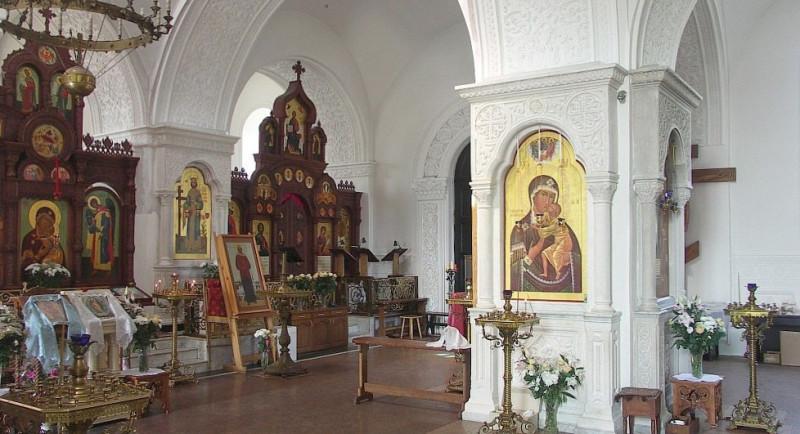 Убранство Крестовоздвиженской церкви