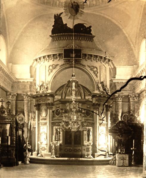 Казанская церковь в Яропольце - апсида