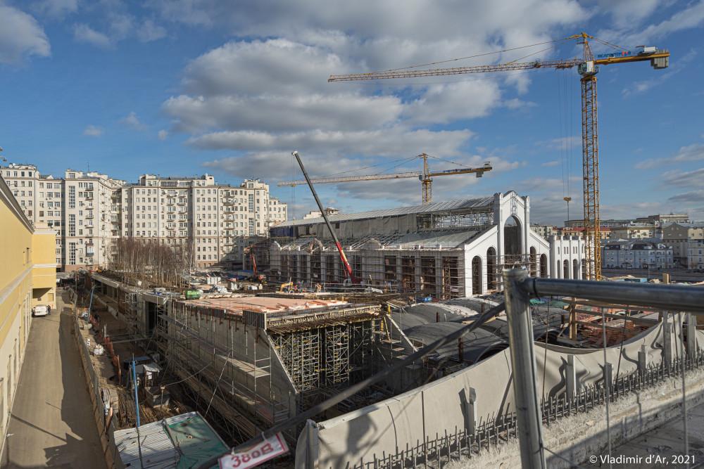05. Реконструкция ГЭС-2. Фото 2018 года.