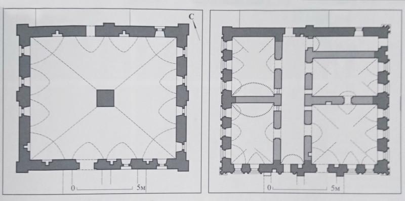 Планировка палат Кожевенной слободы. Кожевенная улица, 19, стр.6.