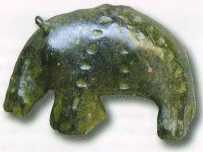 Подвеска-медведь VII-VIII вв.