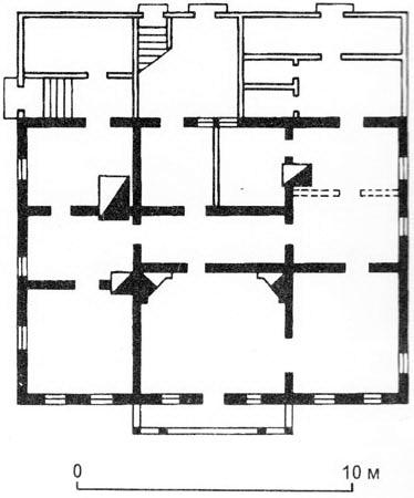 Дом Клятовых - планировка