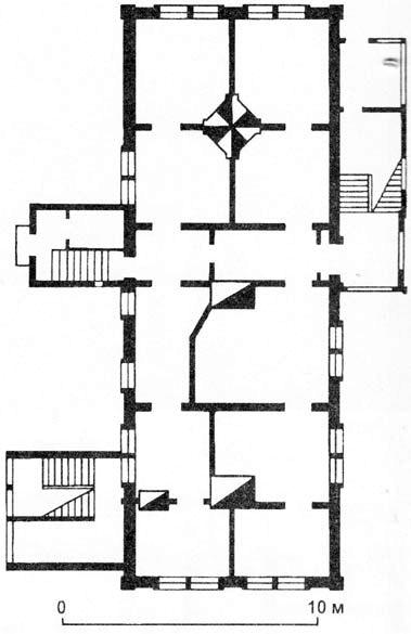 Дом Милютиной - планировка