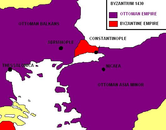 Византия. 1430 год.