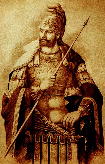 Император Константин XI Палеолог