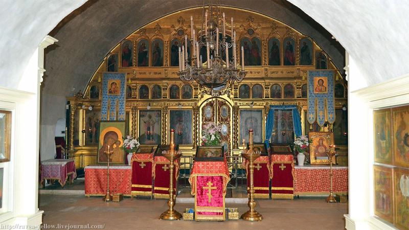 Церковь Покрова Пресвятой Богородицы в Филях. Нижний храм.