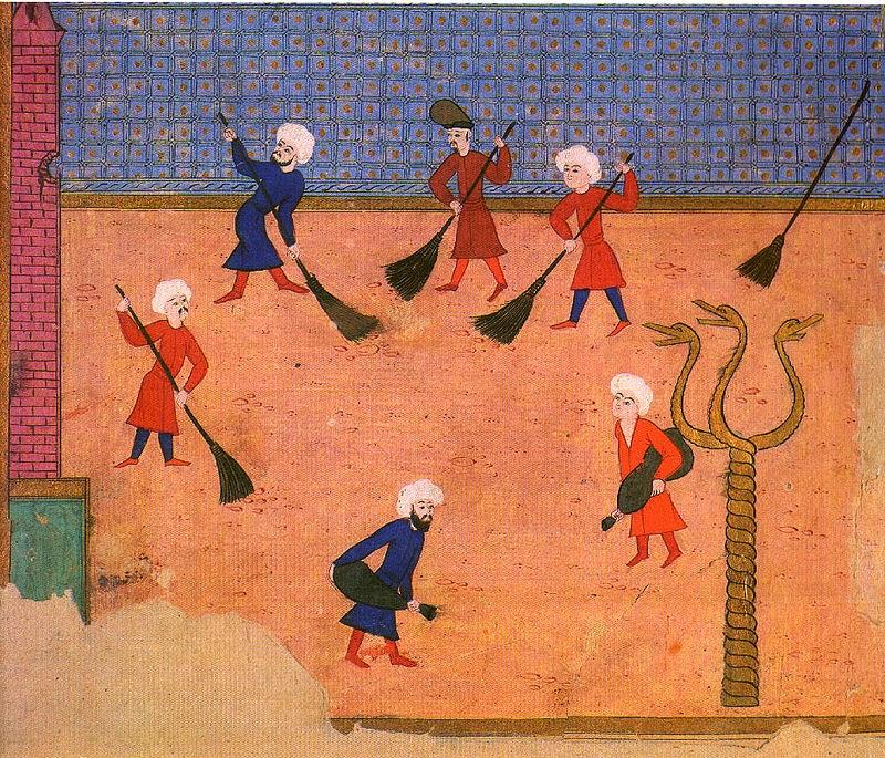 Турецкая миниатюра. 1582 год.