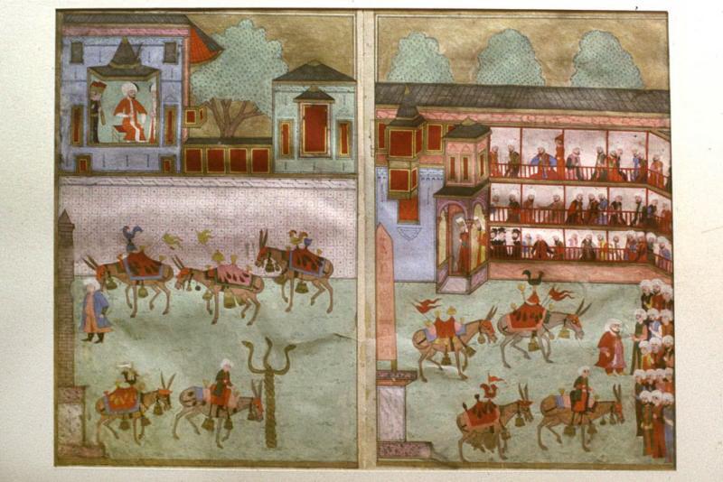 Праздник Обрезания принца Мехмеда