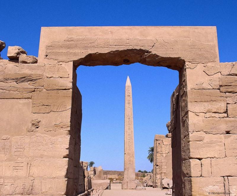 Храм Амона Ра в Фивах
