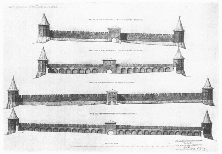 Западная и южная стены Зарайского кремля с наружной и внутренней сторон.jpg