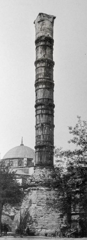 Колонна Константина. 1912 год.