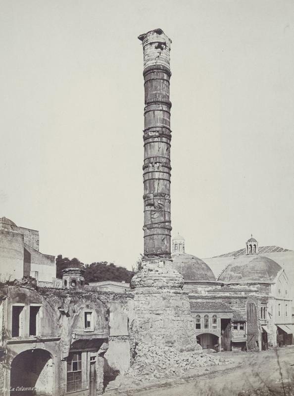 Колонна Константина. Около 1870 года.