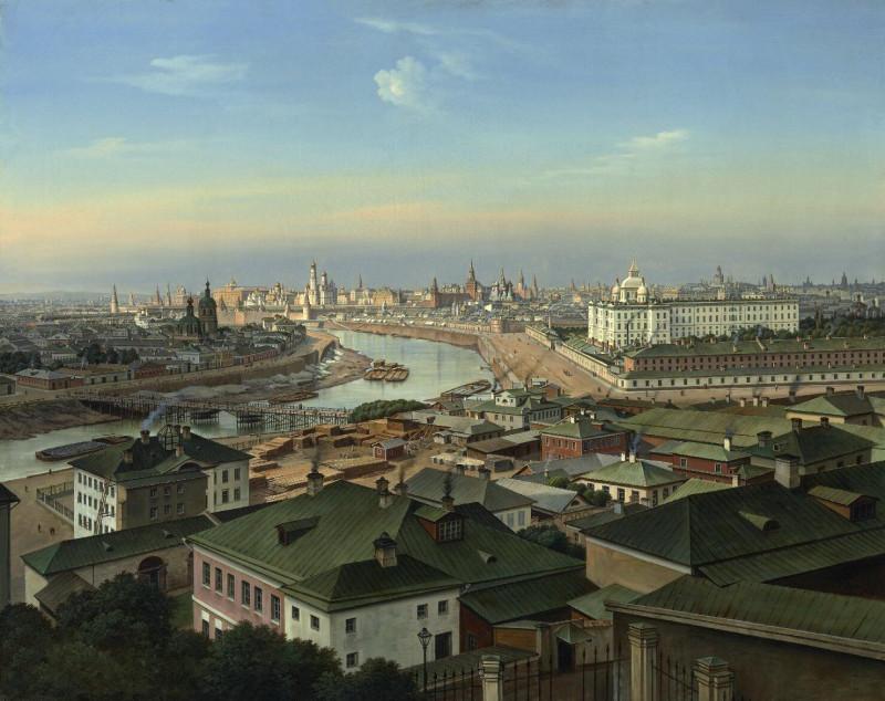 Панорама Москвы со Швивой горки