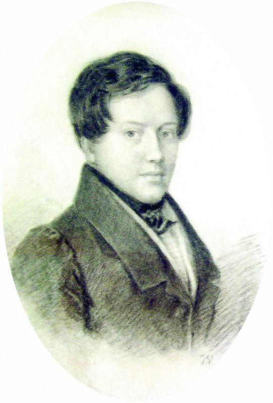 Евгений Абрамович Боратынский. 1826 год.