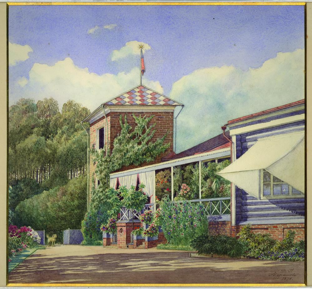 Главный дом усадьбы Мураново