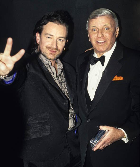 Frank Sinatra&Bono