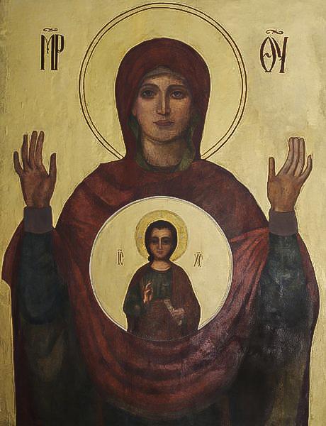 Икона Знамение - Дубровицы-1
