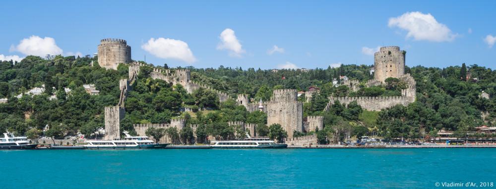 Крепость Румелихисар на Босфоре