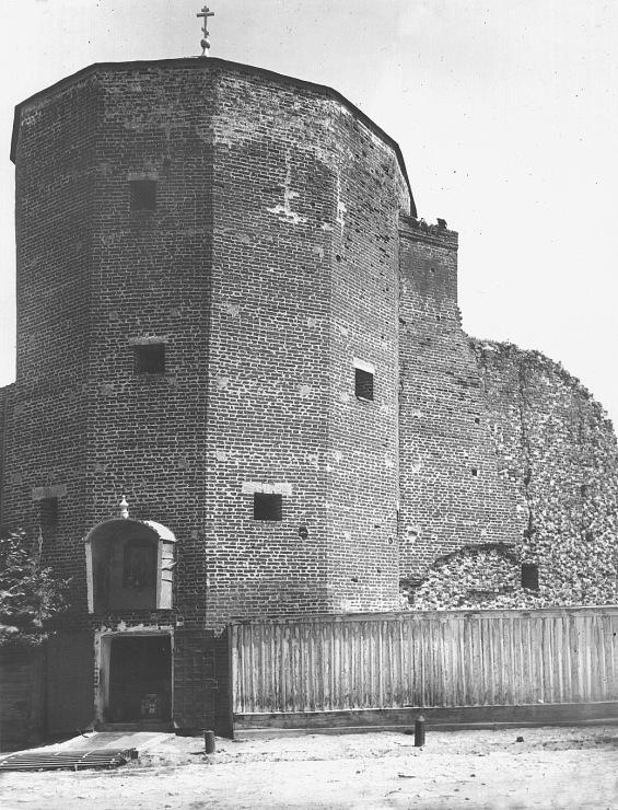Грановитая башня старое фото