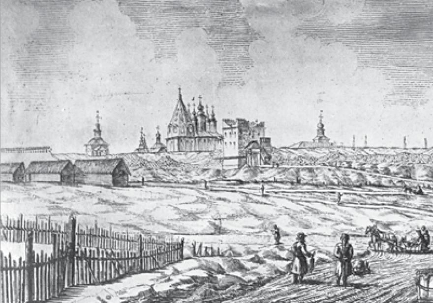 Косые ворота - Казаков