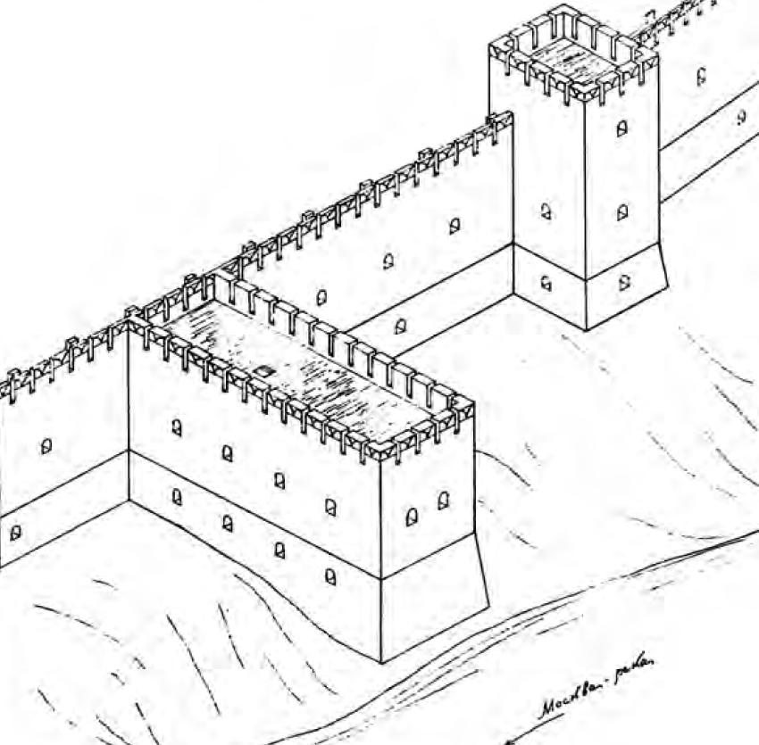 Тайник и Тайницкая башня - реконструкция