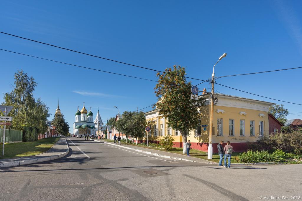 Коломенский кремль. Улица Лазарева.