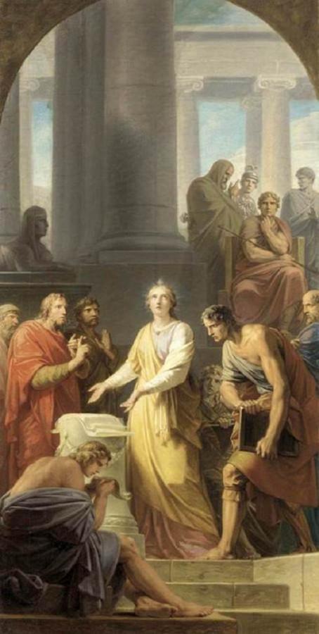005 - Святая Екатерина и мудрецы