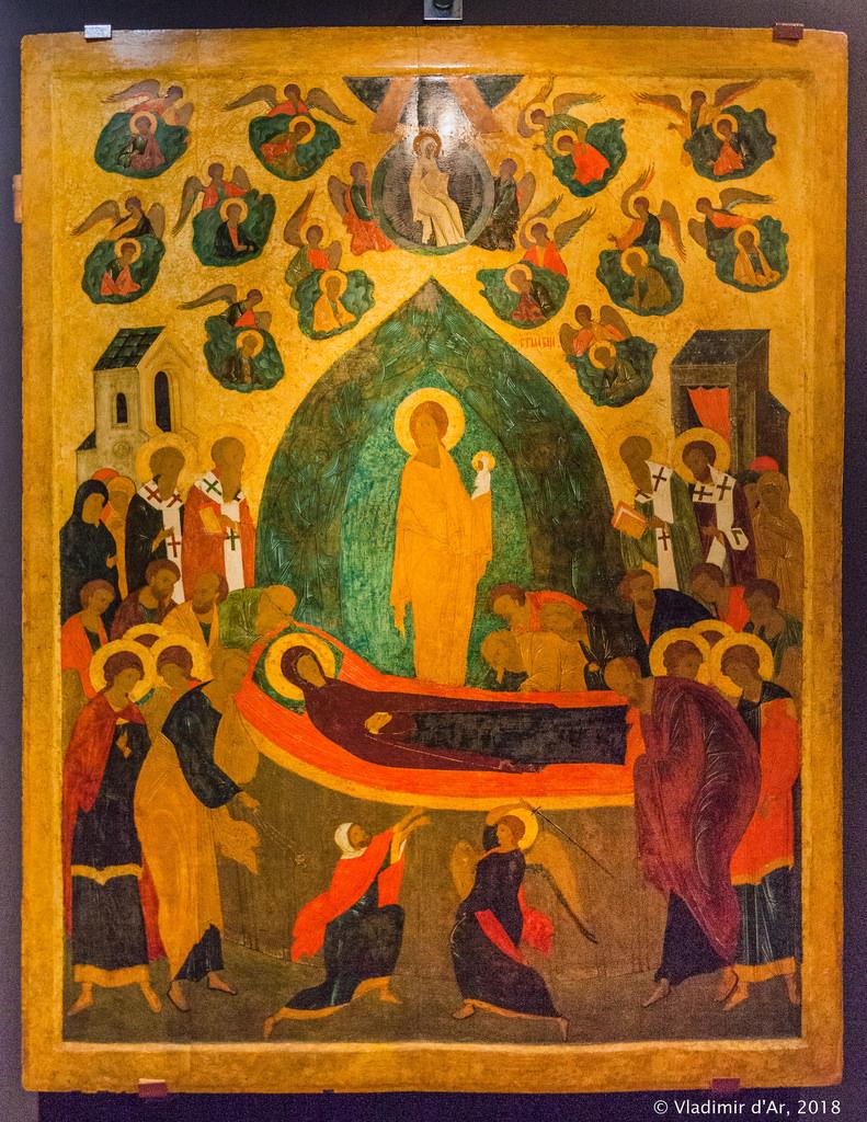 Успение Богородицы. Дионисий. Вторая половина XV века.