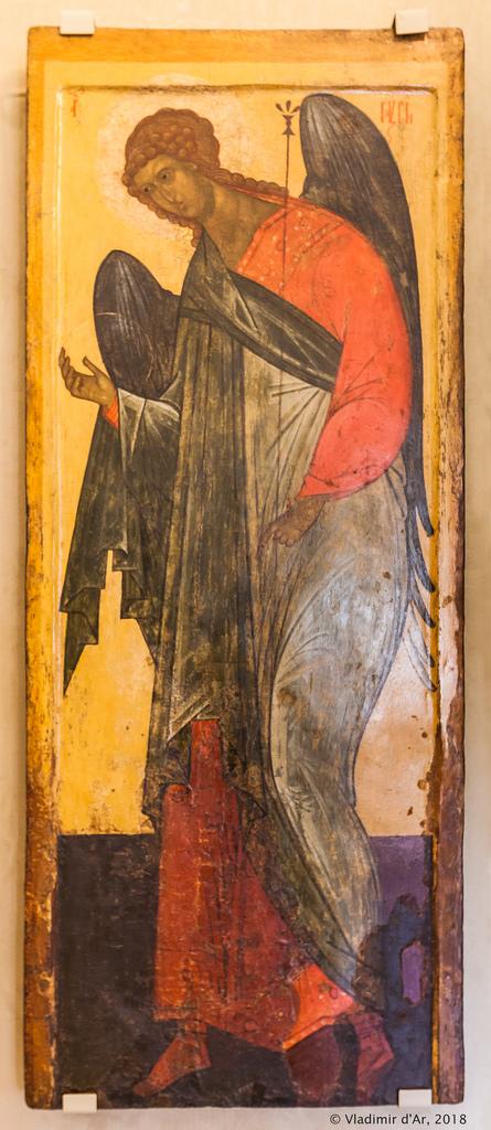 Архангел Гавриил из деисусного чина. XV-XVI вв.