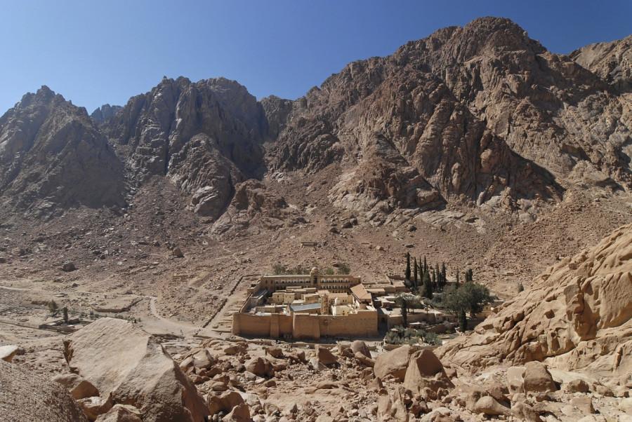 027 - Монастырь Святой Екатерины и гора Синай - 001