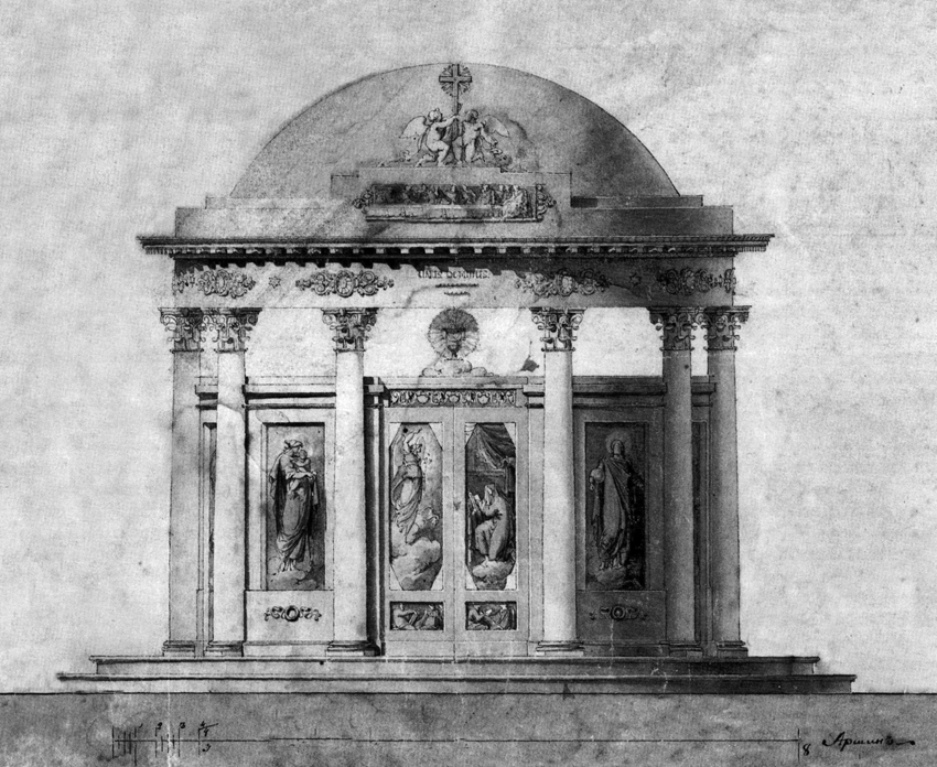 Проект иконостосаса Храма Дмитрия Ростовского - каталог - Швейцария