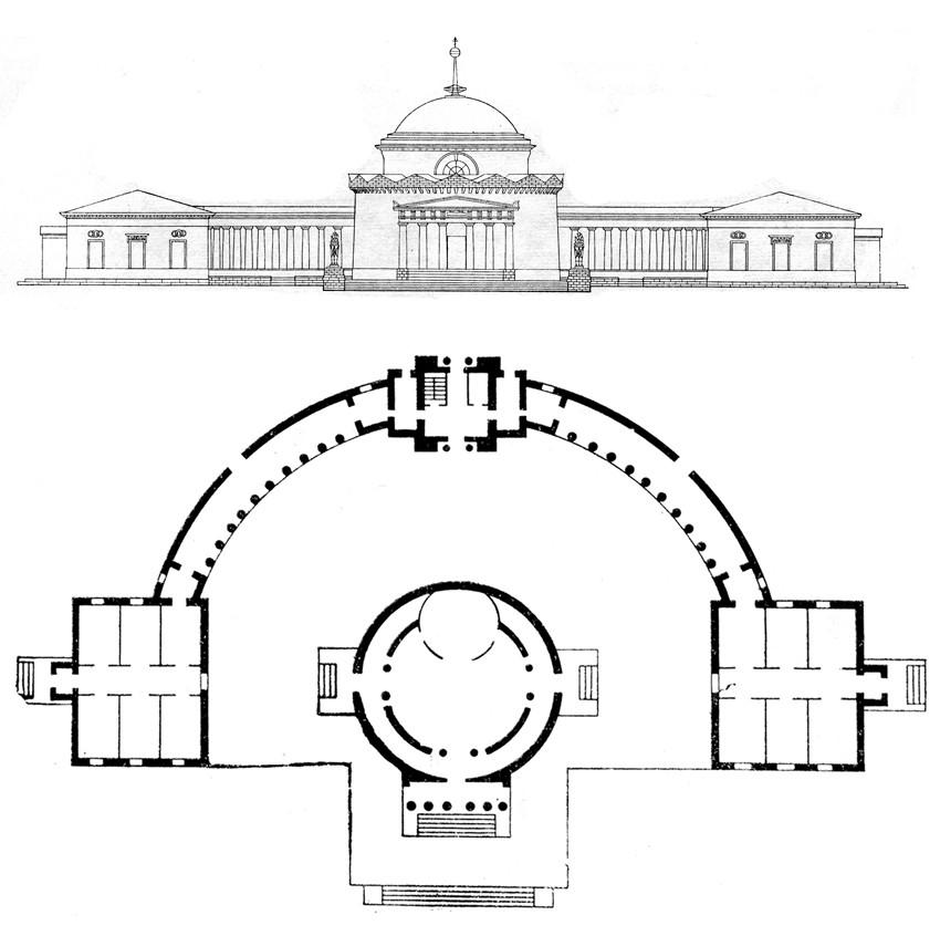 Проект Храма Дмитрия Ростовского - усыпальницы Волконских
