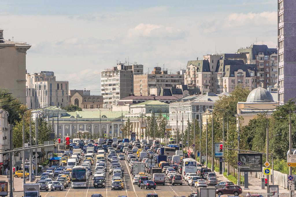 Москва. Садовое.